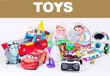 TOYS, we have a wide range of Toys for all ages imported and locally sourced for you cooperate and p