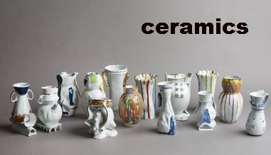 Ceramic vases, Plates, Mugs can be customized for customer requirements.